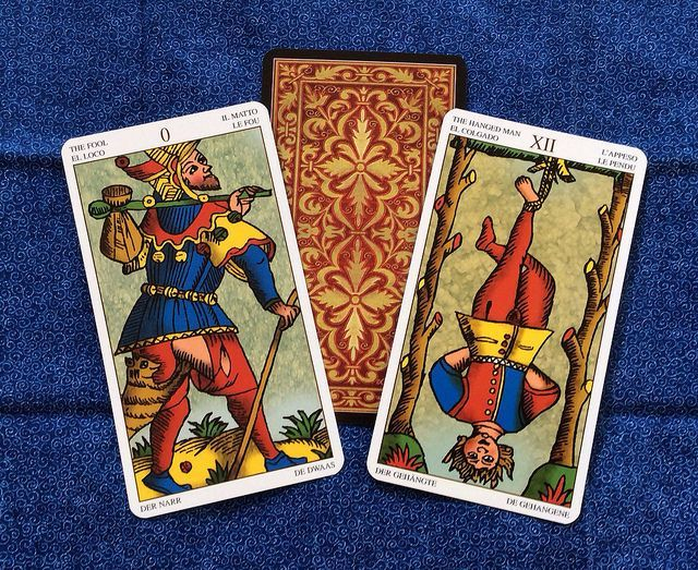 tarot marsella 3 cartas